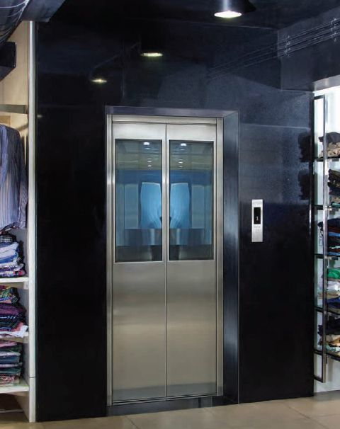 Automatic Elevators Ss Glass Door Big Frame Passenger Lifts